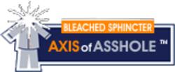 Axisofassholesbleachedsphincter